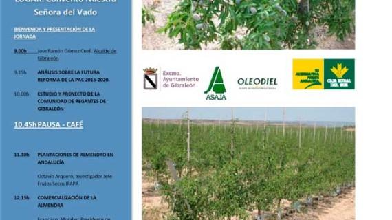 El Convento del Vado de Gibraleón acoge la I Jornada Técnica Agrícola