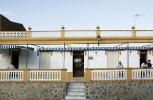 Fachada del Casino de El Repilado.