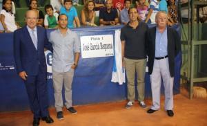 La pista central del Real Club Recreativo de Tenis llevará el nombre de Pepe García Requena.