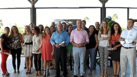Un total de 27 empresarios y entidades de Islantilla-Lepe-Isla Cristina reciben el distintito del Proyecto SICTED