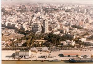Huelva desde el aire