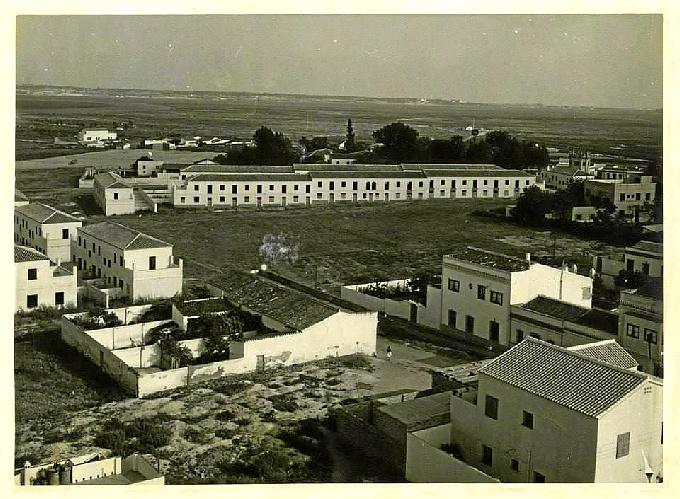 Calle Villarrasa y barriada Tartessos en la década de los sesenta del pasado siglo XX