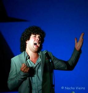 El cantaor Andrés Fernández.