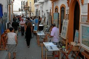 Calles de Ayamonte.