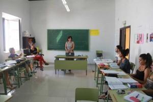 Un momento del curso de inglés.