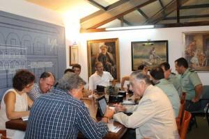 Reunión de la junta de seguridad.