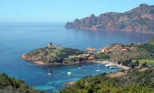 Una vista de la Isla Genovesa.