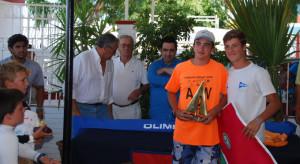 Javier Isasi y Arenado, vencedores en 420.