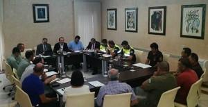 Junta Local de Seguridad de Almonte.