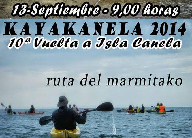 La 10ª Vuelta a Isla Canela en piragüa 'Kayakanela 2014' se disputa este próximo sábado
