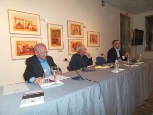 Presentación del libro de Carlos Navarrete en la Diputación de Huelva.