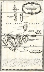 Mapa del archipiélago en 1684.