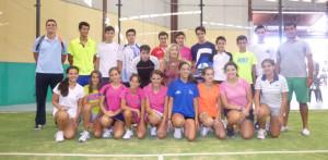 Componentes del equipo onubense en el Andaluz de Selecciones Provinciales.