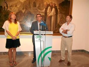 Presentación de las obras restauradas en el Museo.