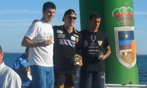 Rubén Gutiérrez de nuevo en lo más alto del podio en la categoría Master, esta vez en Torremolinos.