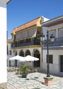 Fachada del Casino de Palos de la Frontera. / Imagen: Fotoespacios