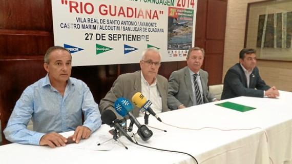 Unos 200 palistas participarán en la XXI Regata Internacional Río Guadiana