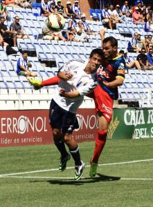 Cabrera fue de los mejores en la tarde del sábado en las filas albiazules. / Foto: Josele Ruiz.