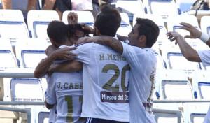 El Recre, un equipo sólido en defensa hasta el momento. / Foto: Josele Ruiz.