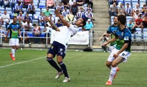El Recre mejoró con la salida al terreno de juego de Manu Molina. / Foto: Josele Ruiz.