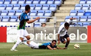 Las mejores apariciones de Cabrera fueron en el segundo tiempo. / Foto: Josele Ruiz.