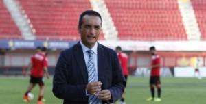José Luis Oltra, entrenador del Recre, en su vuelta a Palma de Mallorca. / Foto: www.lfp.es.