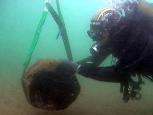 La isla romana sumergida fue hallada en el año 2011.