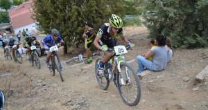 Atractiva prueba ciclista la que albergó Sanlúcar de Guadiana el sábado pasado.