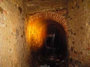 Otra perspectiva del 'Túnel del boquerón'. /Foto: www.ayamonte.org