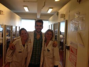 Víctor Preckler en el hospital