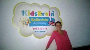 Mar Márquez es la coordinadora de KidsBrian en Huelva.