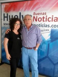 Antonia y Miguel Ángel Velasco.