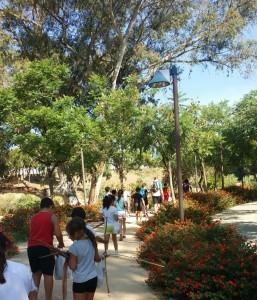 Las actividades medioambientales se llevaron a cabo en el Parque Moret.