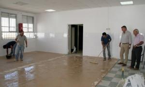 Trabajos en el CEIP 'Concepción Arenal' .