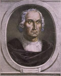 Retrato de Cristóbal Colón conservado en la biblioteca del Congreso de los Estados Unidos de América. / Foto: wikipedia.
