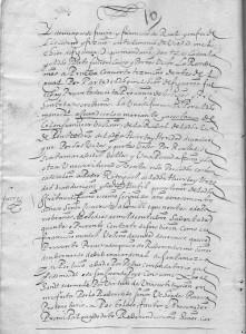 Documento referente a Juan y Constanza Colón, de los Colón de Poio.