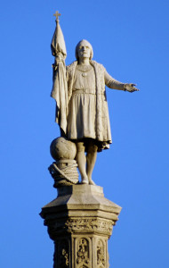 Monumento a Colón en Madrid. / Foto: wikipedia.