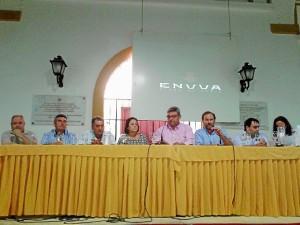 Asamble de presentación de Enuva.