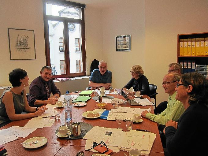 Reunión del jurado del premio. / Foto: www.espo.be/
