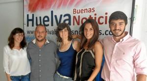 Jeromo Segura ha visitado la redacción de Huelva Buenas Noticias.