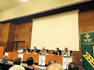 Intervención de José Luís García Palacios, en la mesa presidencial de la jornada