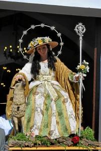 Imagen de la Divina Pastora de Zalamea.