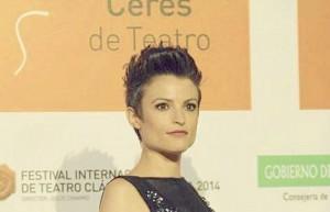 La actriz María Ordóñez.