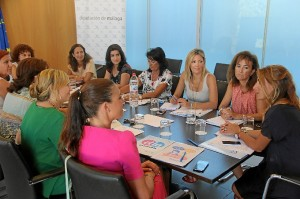Reunión de diputadas de Igualdad.
