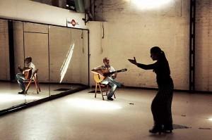 Momentos del rodaje del documental de Remedios Malvárez.