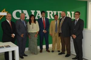 Inaugurada la nueva oficina de Caja Rural del Sur en la Avenida Federico Molina de Huelva capital.