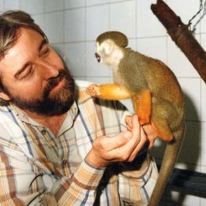 En su tienda, en Mazagón, tuvo todo tipo de animales.