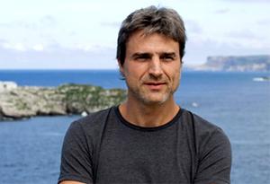 El actor Alberto San Juan actúa en Aracena.