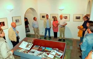 Inauguración de la exposición en Ayamonte.