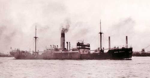 El misterioso barco británico que permanece hundido en aguas de Mazagón